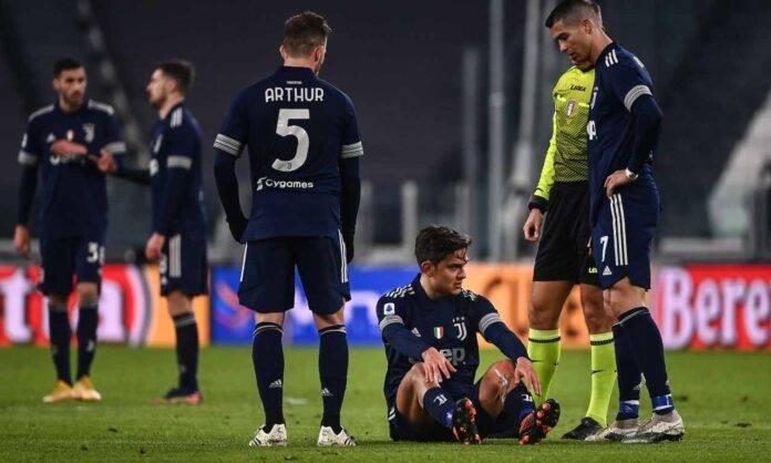 Juventus infortunio Dybala