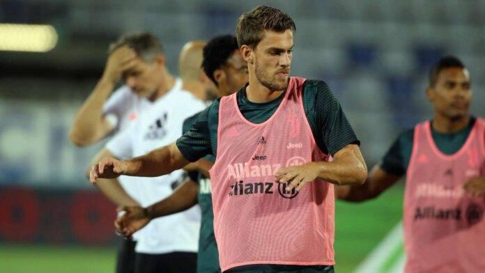 Daniele Rugani con la maglia della Juventus