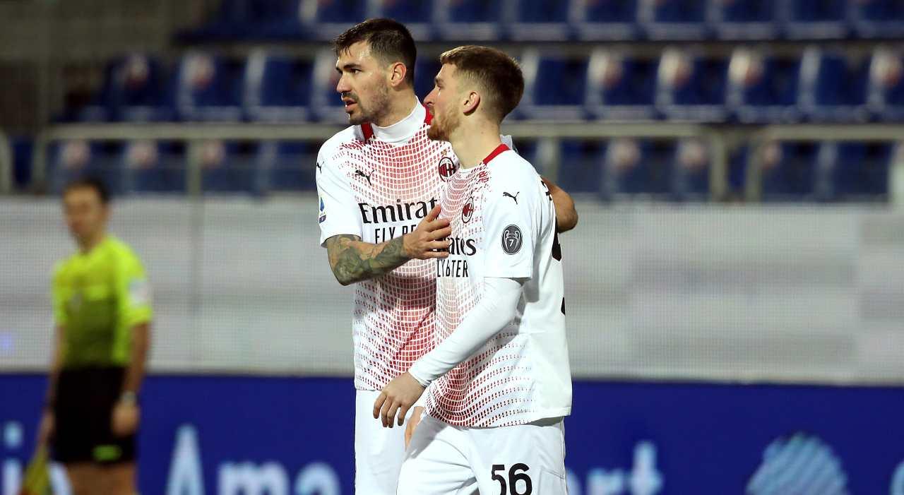 Saelemaekers Romagnoli Squalificati Milan