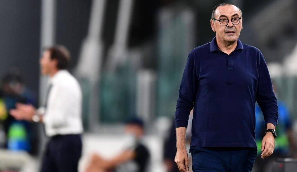 Sarri con la Juventus