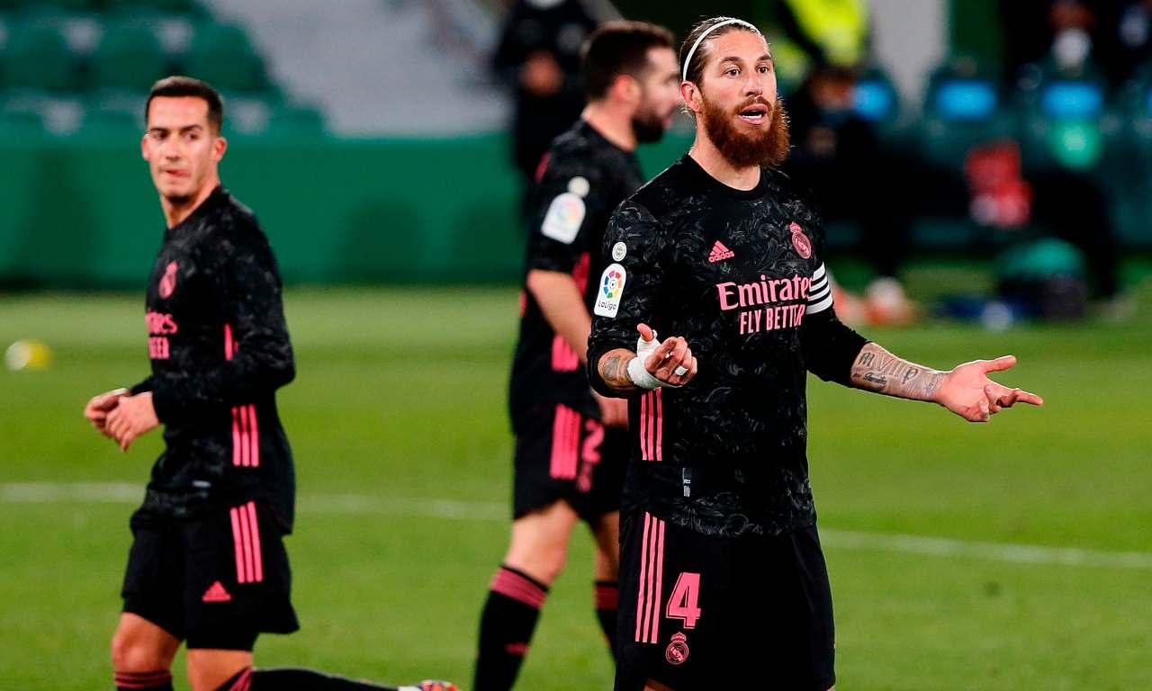 Sergio Ramos Calciomercato Juventus Liverpool