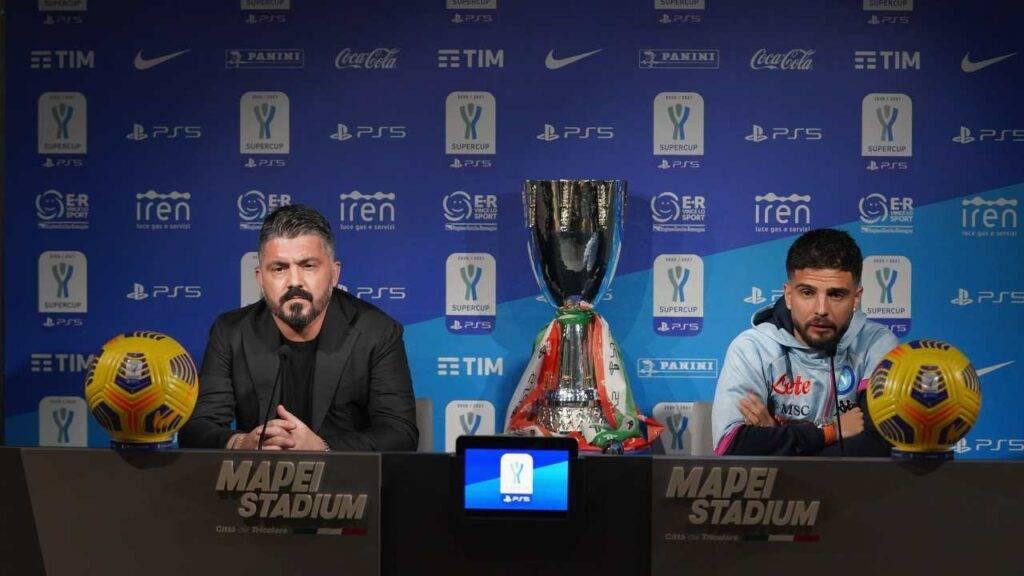 Supercoppa Juventus-Napoli, è già Gattuso show in conferenza