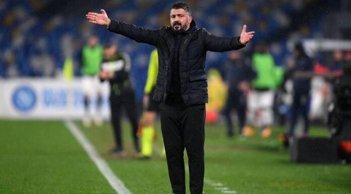 Napoli Gattuso Infortunio Manolas