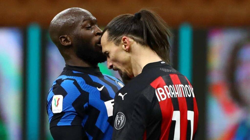Scontro Lukaku e Ibrahimovic