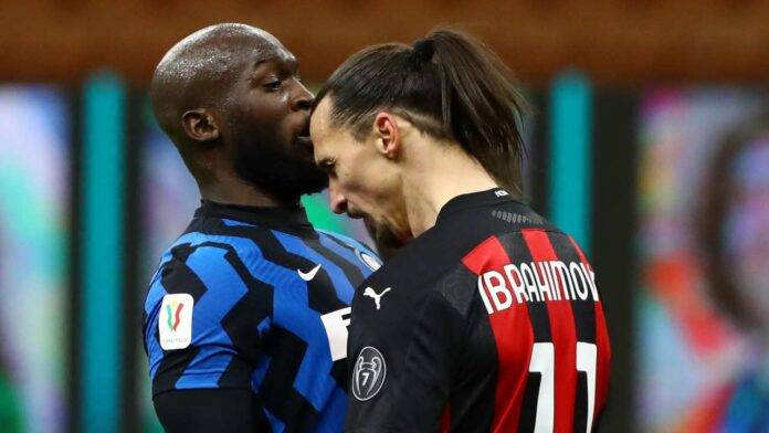 Scontro Lukaku Ibrahimovic