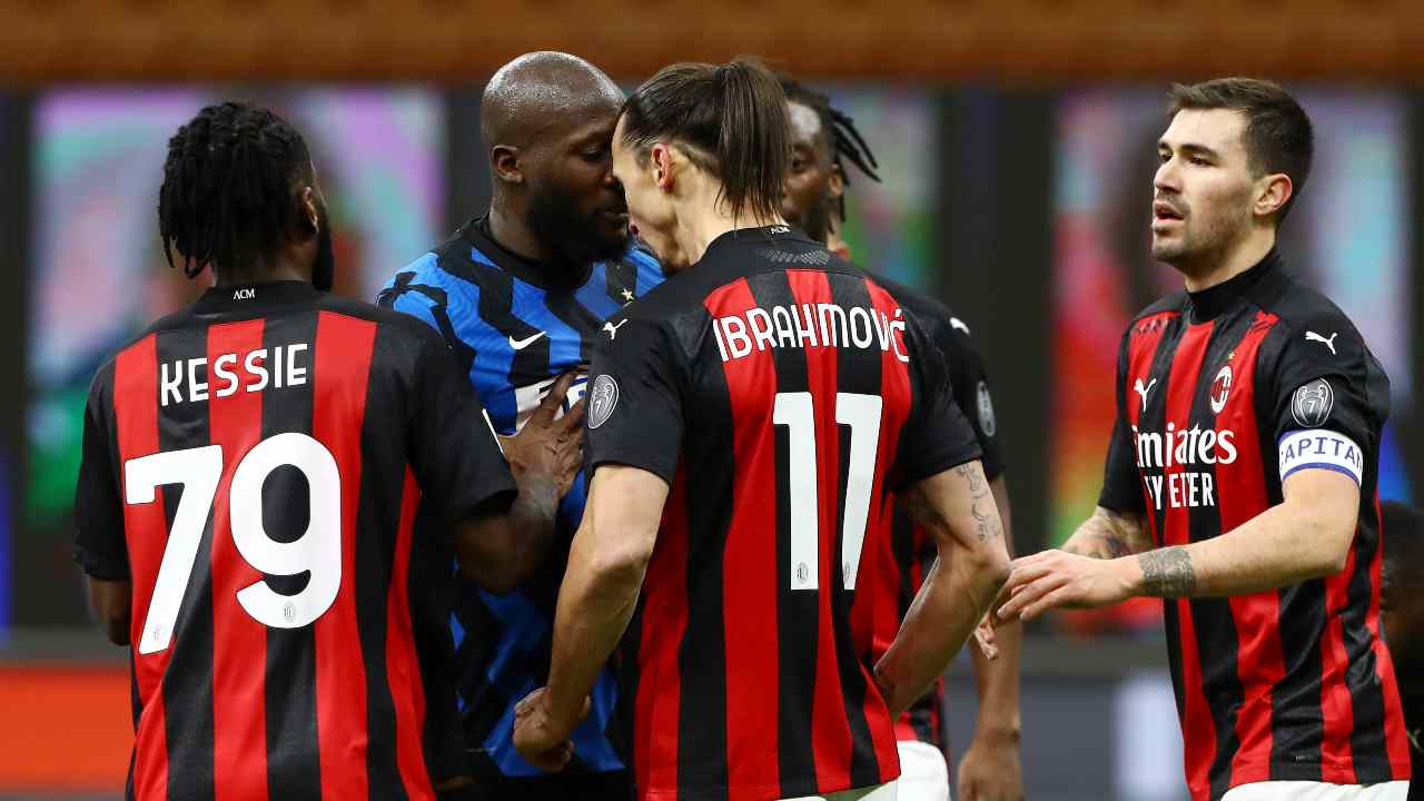 Testa a testa Lukaku Ibrahimovic
