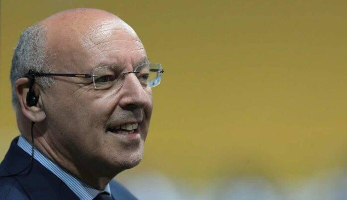 Giuseppe Marotta sorride