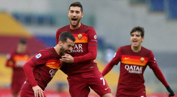 pellegrini roma - inter gol var
