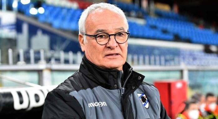 Claudio Ranieri in posa