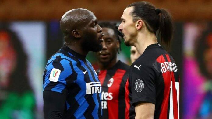 Scontro tra Lukaku ed Ibrahimovic