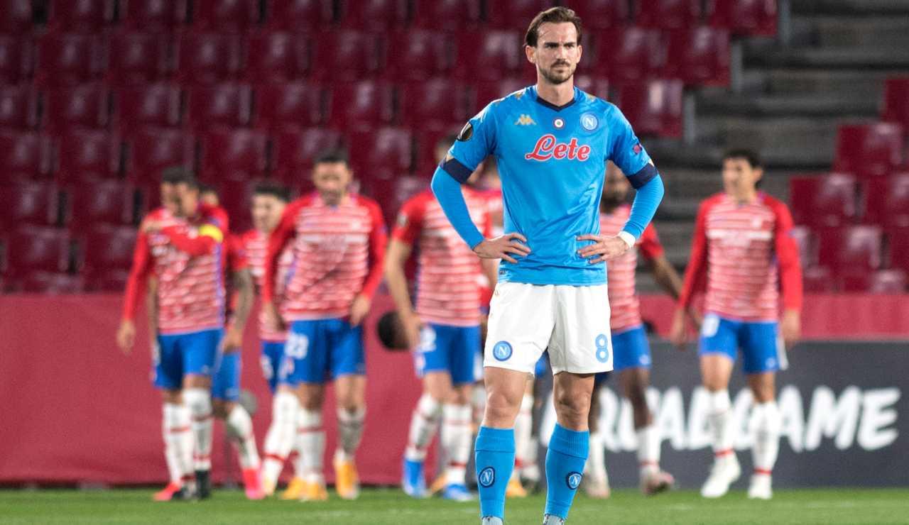 Napoli Granada sedicesimi europa league