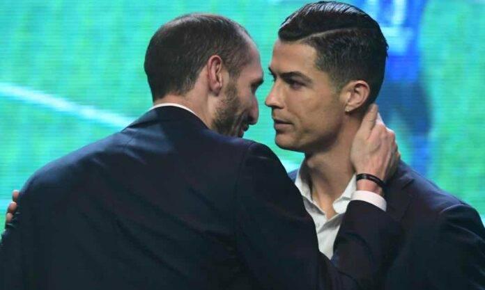 Chiellini e Ronaldo