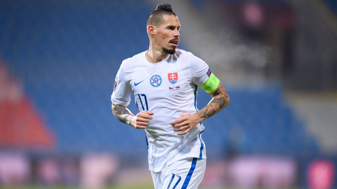 Hamsik torna a giocare in Europa