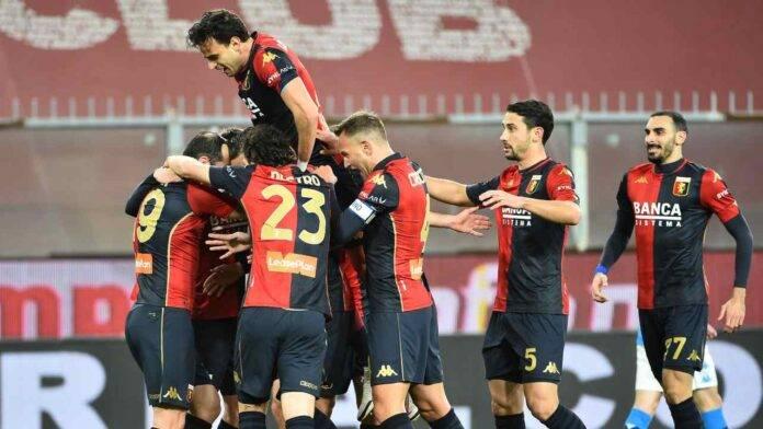 Il Genoa esulta