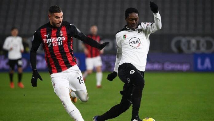 Milan e Spezia in campo