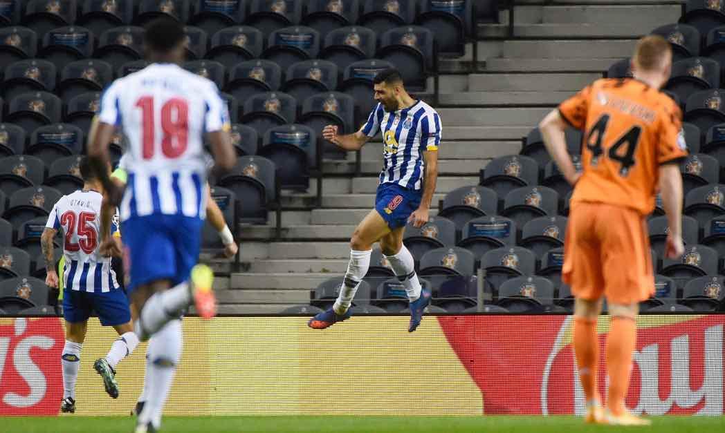 Porto-Juventus gol Tamari