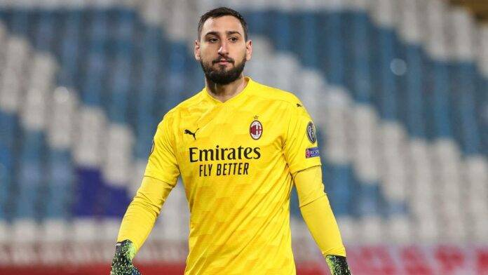 Gianluigi Donnarumma in campo