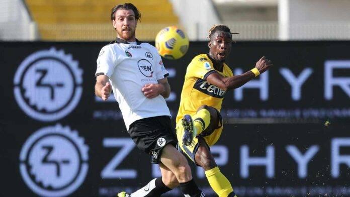 Spezia e Parma in campo