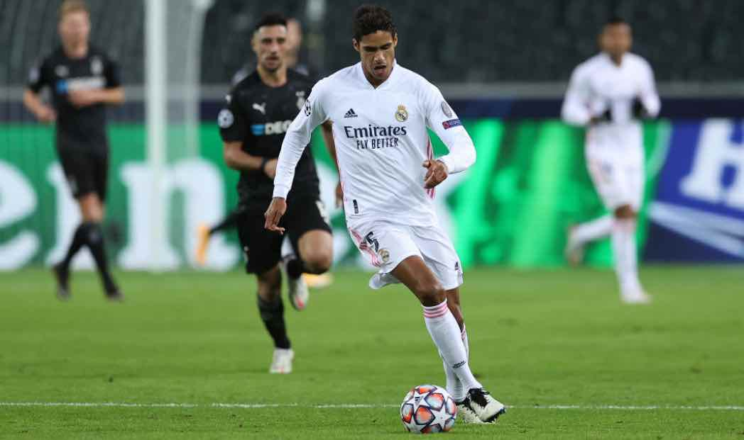Varane in campo col Real Madrid