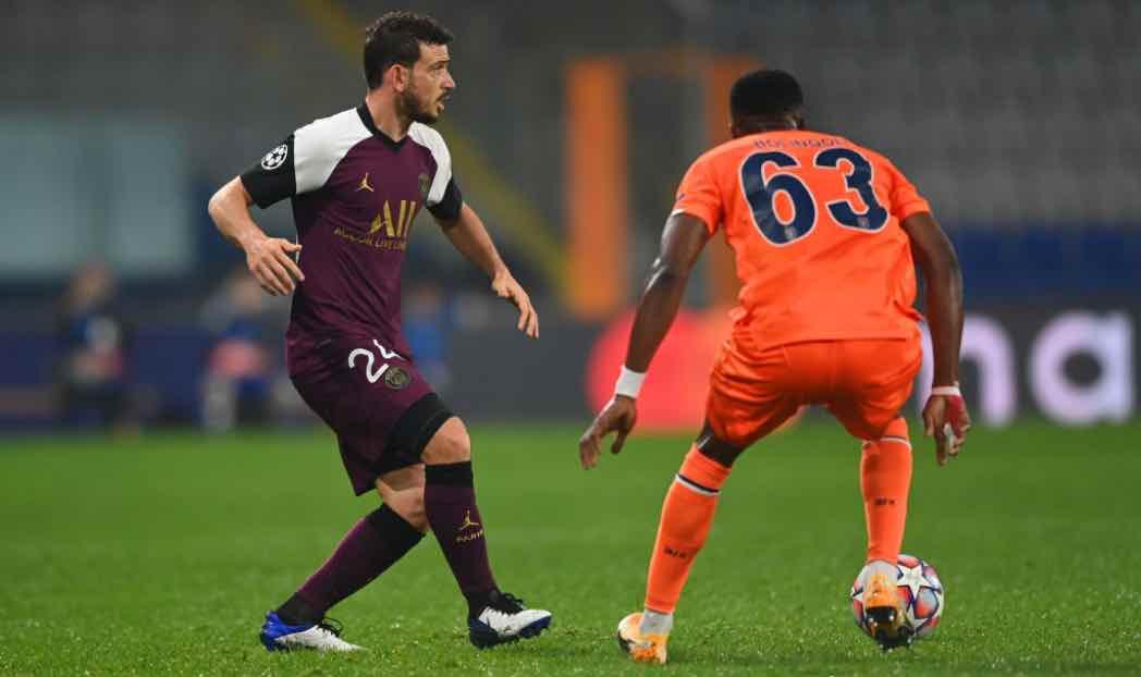 Florenzi in campo col PSG