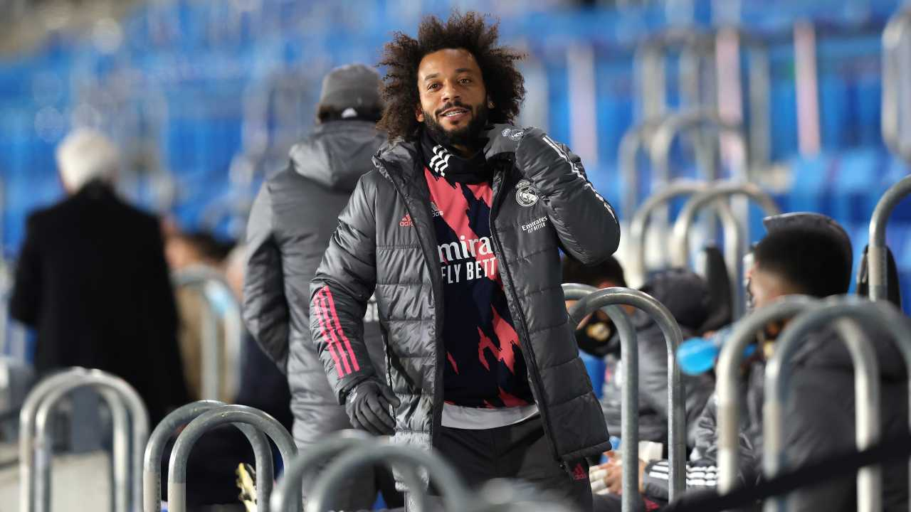 Marcelo in panchina
