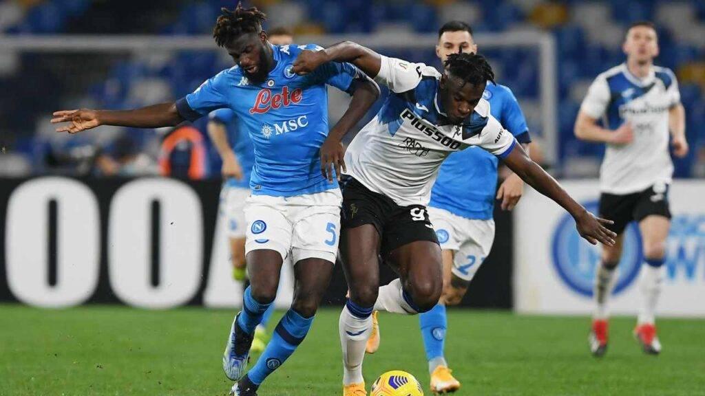 Bakayoko e Zapata in azione