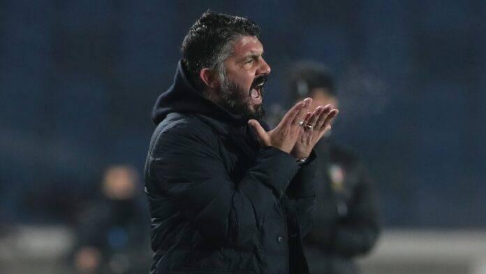 Gennaro Gattuso arrabbiato
