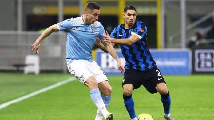 Inter e Lazio in campo