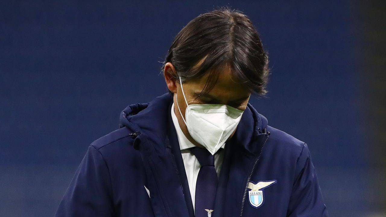 Simone Inzaghi in campo
