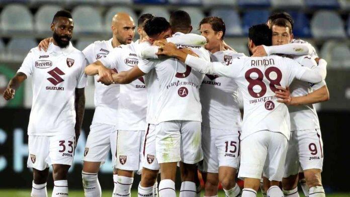 Il Torino esulta