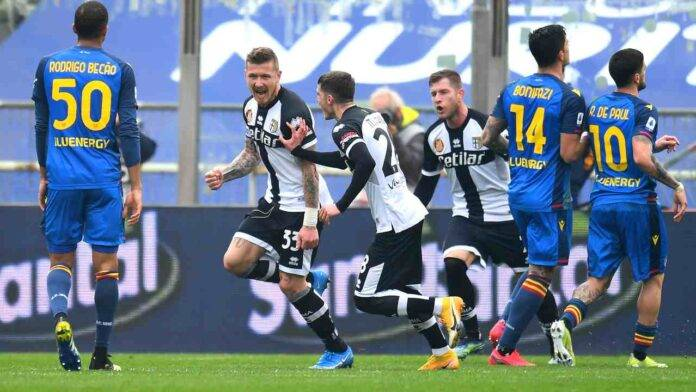Parma e Udinese in campo