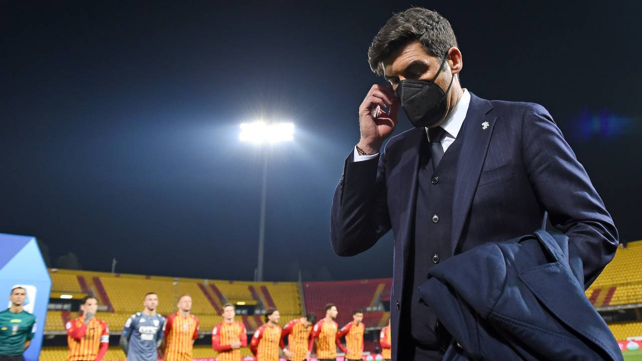 Paulo Fonseca in campo