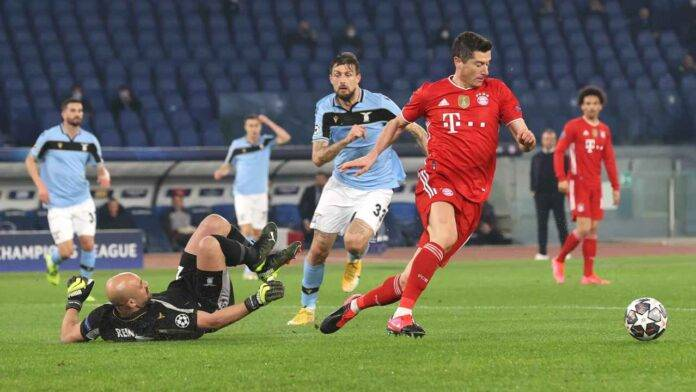 Lazio e Bayern Monaco in campo