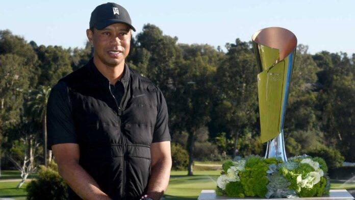 Tiger Woods premiato