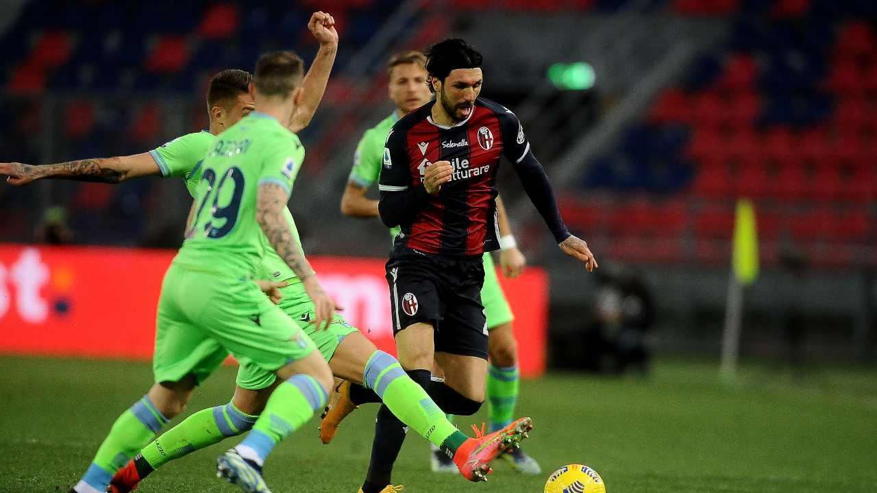 Bologna e Lazio in azione