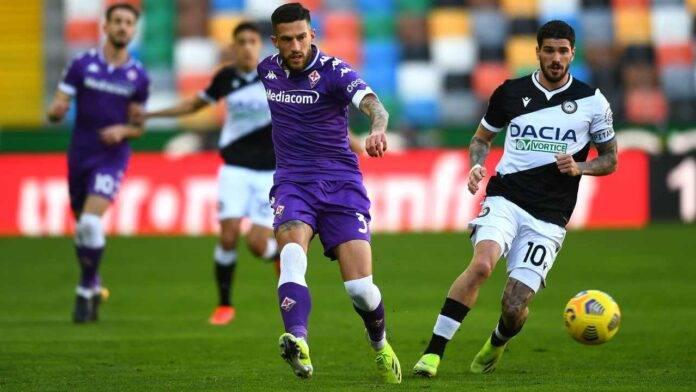 Udinese e Fiorentina in campo