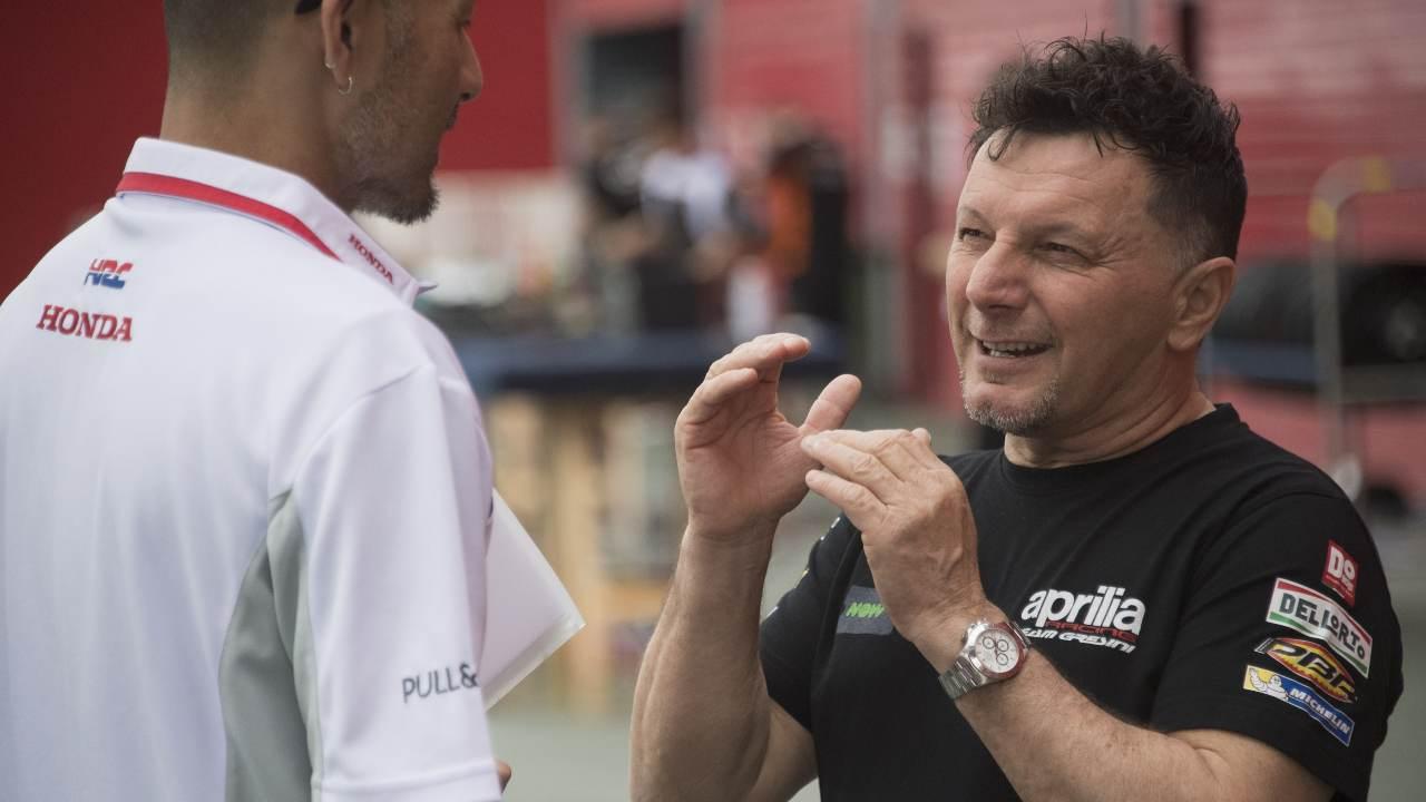 Fausto Gresini intervistato