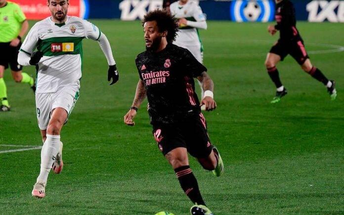 Marcelo porta palla