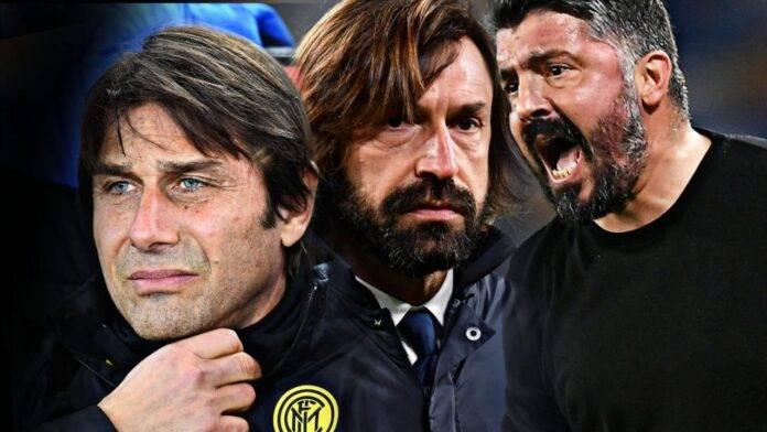 Conte, Pirlo e Gattuso