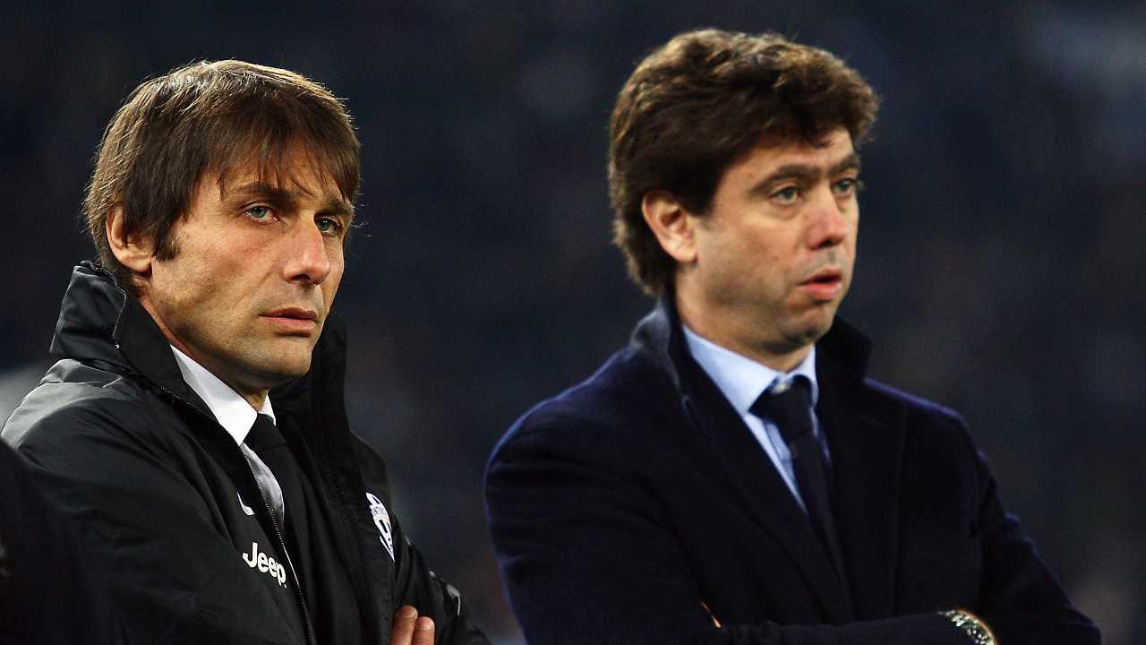 Conte e Agnelli ai tempi della Juventus
