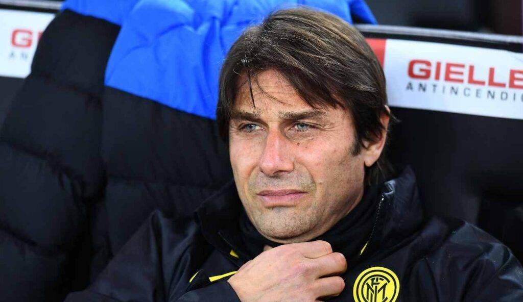 Antonio Conte preoccupato