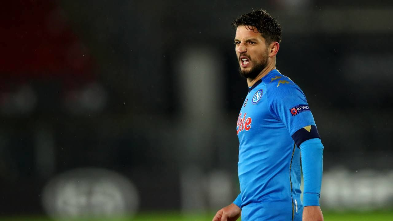 Dries Mertens dolorante