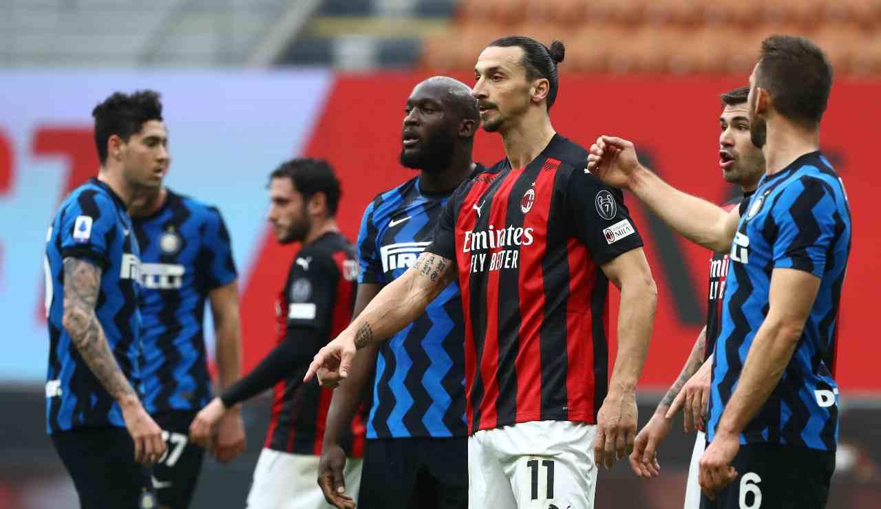 Ibrahimovic e Lukaku vicini