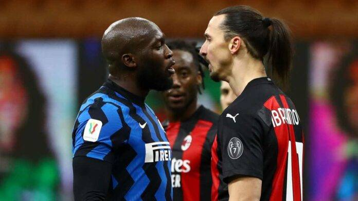 Ibrahimovic Lukaku faccia a faccia