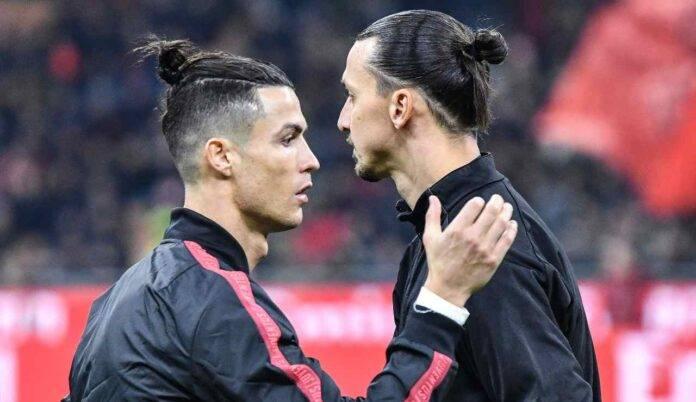 Ibrahimovic e Ronaldo si salutano