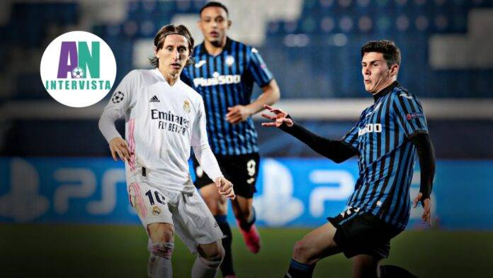 Pessina in campo col Real Madrid