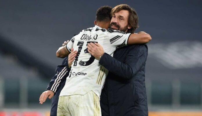 Abbraccio Danilo Pirlo