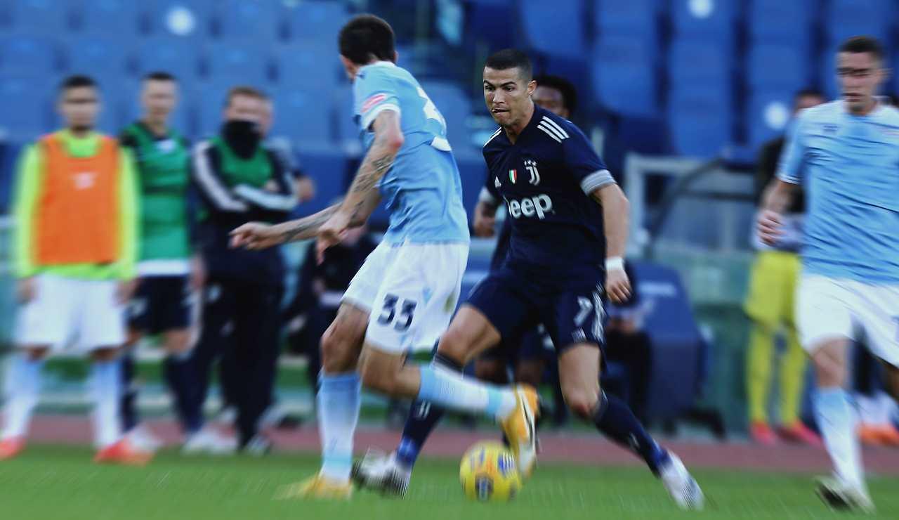 Ronaldo in Lazio-Juventus