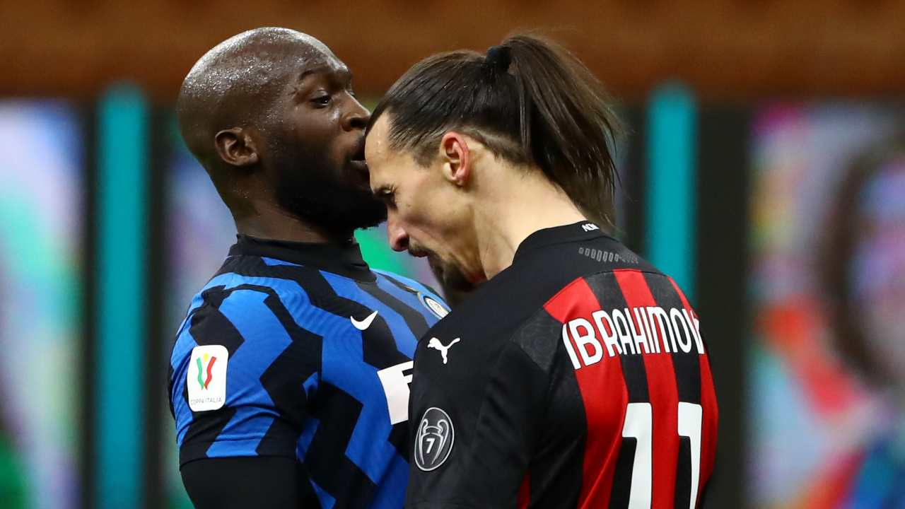 Testa a testa Ibrahimovic Lukaku