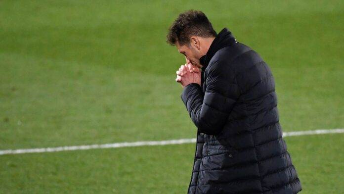 Atletico Madrid, Simeone prega